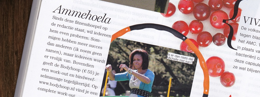 Bodyhoop in Red Magazine