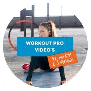 25 volledige workouts Bodyhoop