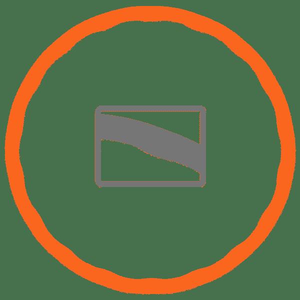 Golven van een fitnesshoelahoep icoon
